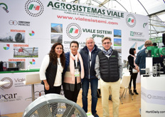 The team of Agrosistemas Viale. Viali Sistemi is an italianmanufacturer of drive equipment and the company in Mexico is named Agrosistemas Viale. They also represent Italian companies Termotecnica Pericoli and Recar in Mexico.
