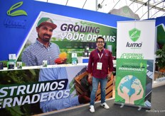Luis Ayala Flores has been raised in the horticulture industry and five years ago, he decided to establish his own company; Luma Greenhouses. They are greenhouse builders and just introduced a new biodegradable much. It is something new for Mexico and we are eager to export it.