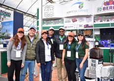 The team of Horticultorres, a distributor in Mexico for Fibredust, Ellepot and Blackmore.