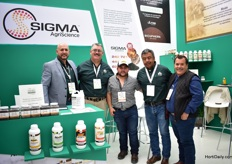 The team of AMAG. They supply organic fertilizers and their Head office is based in Huston (TX), USA. They produce their products at this location in the US (by Sigma AgriScience) and export them to Mexico. They are also eager to export their products to the EU and the rest of the world.