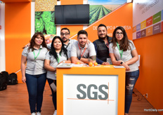 The team of SGS. This company is working in Mexico for over 65 years.