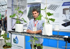 Guillermo Carabante of hydroponic Systems.