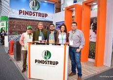 The team of Pindstrup. They supply their products directly from Denmark or Latvia to Mexico. Over the last years, they have grown significantly in this market.