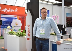 Cies Roskam of ProEnto was also visiting the show. This company promotes, produces processes insects as feed for animals and/or food for humans.