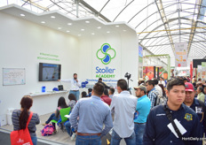 Seminars being given at the Stoller Acedemy booth.