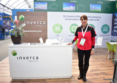 Magdalena Arredondo of Inverca. This company is celebrating its 30th anniversary. In these 30 years, Inverca has reached five continents and continues to pioneer new frontiers day by day. On top of that, they have manufactured and supplied more than 2,000 hectares of greenhouses for all types of climates and crops.