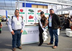The team of Topseed with their model.