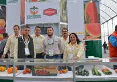 Roberto, Victor, Juan, Raul, Edgar and Martha of Champion Seed Company.