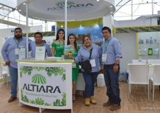 The team of Altiara, they produce organic products.
