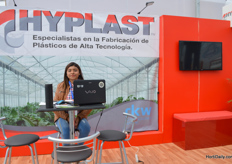 Viridiana Daniel of Hyplast.