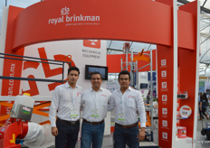 Daniel, Diego and Edmundo of Royal Brinkman