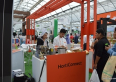 "Dutch ""stroopwafels"" at the booth of HortiConnect."