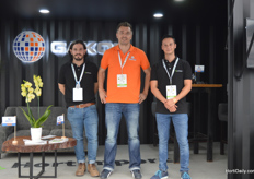 Victor Kano, Philippe Haack and Gerardo Martinez of Gakon.