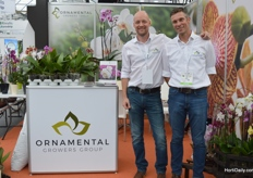 Albert Veldstra and Tammo Hoeksema of Ornamental Growers Group