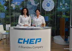 Paola Avila and Angelica Ocampo of CHEP.