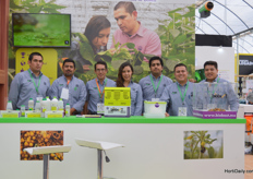 The team of Biobest, making sustainable crop management.