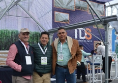 Diego Lugan, Javier Sanchez and Alfredo Miranda of TDS Invernaderos