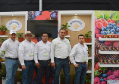 Juan Carlos Mares, Jose Louis Magaa, Alejandro Vicente, Jose Maria Lopez and Cesar Doen of Giddings.