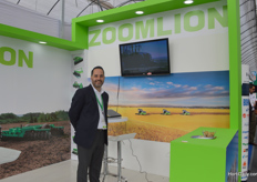 Antonio Martinez of Zoomlion.