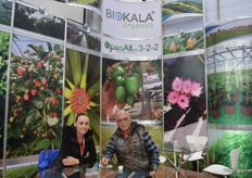 Daniela and Miguel of Biokala.