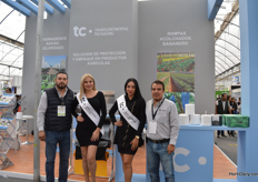Alfonso Ramos, Lilliana Villegas, MArichel Gonzalez and Carlos Eduardo Cruz of TC Packaging.