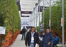 The greenhouse of MSC, VoloAgri and US Agriseeds.