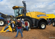 New Holland machine.