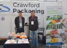 Pablo Vazquez and Joss Bravo of Crawford Packaging.