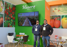 Rosanna Zatarain and Julio Patio of Hazera.
