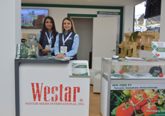 Laurengi Jaimes and Isley Vivas of Westar.