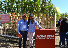Juan Antonio Muoz and Shade Vega of Novasem.