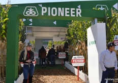 The booth of Pioneer.