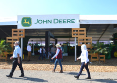 John Deere was well represented.