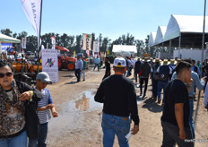 It was a busy day at the Agroalimentaria.