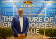 Dennis van Leijde from KUBO, they specialize in sustainable greenhouse projects and smart growing.