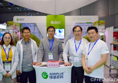 Brian Li with his team from AgriPlus and Chang Real Lee and Kangmo Lee from Grodan. They deliver greenhouse projects and after construction training support.
