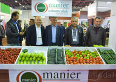 Part of the team with Manier Tohumculuk