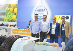 Mega Tarim is one of the partners of the Israeli company Netafim.