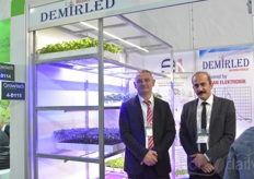 Mehmet Bozbryik Ozcan Ozcan with Demirled, providing various lighting solutions