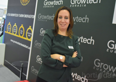 Esin Toy, organising the Growtech Eurasia exhibition