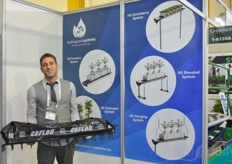 Guille Carabante with Hydroponic Systems