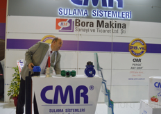 The booth of CMR.