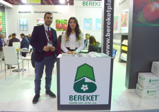 zhan and Merve of Bereket Plastik.