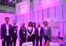 The team of Varnet in their greenhouse.