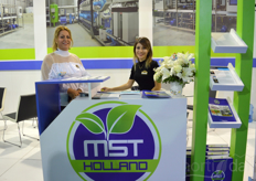 Meran Bilgin and Ayse Erkoc of MST Holland.