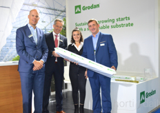 Niels Mathlener and Vincent Kuijenhoven and their colleagues of Grodan.