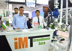 Enes and Sercan of IMT Greenhouse Automation.