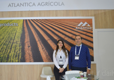Ozge and Durmus of Atlantica Agricultura Natural.