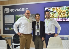 Antonio, Erhan and Samuel of Novagric.