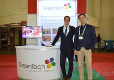 Job Knook and Thijs van der Meulen of Rai Amsterdam/GreenTech.